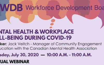 Mental Health and Workplace Well-Being During COVID-19 Webinar