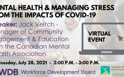 Mental Health and Managing Stress from the Impacts of COVID-19
